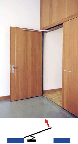 Puerta batiente estandar